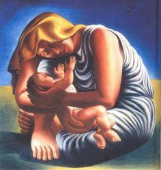 Almada Negreiros, Maternidade, 1935