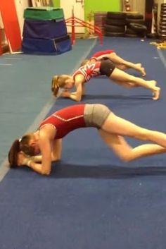 These Gymnasts' Ab Routine to Uptown Funk Looks Insanely Difficult