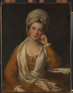"""Mrs. Horton, Later Viscountess Maynard (died 1814/15)"", c. 1770, by Sir Joshua Reynolds (English, 1723-1792). The sitter was one of the great courtesans of her day. In 1763 she was the mistress of the third Duke of Grafton, and later, in 1769, of the third Duke of Dorset. In 1776 she married Charles Maynard, second Viscount Maynard, who, at twenty-three, was at least a decade younger than she. In 1784 she began an affair with the nineteen-year-old Francis Russell, fifth Duke of Bedford."