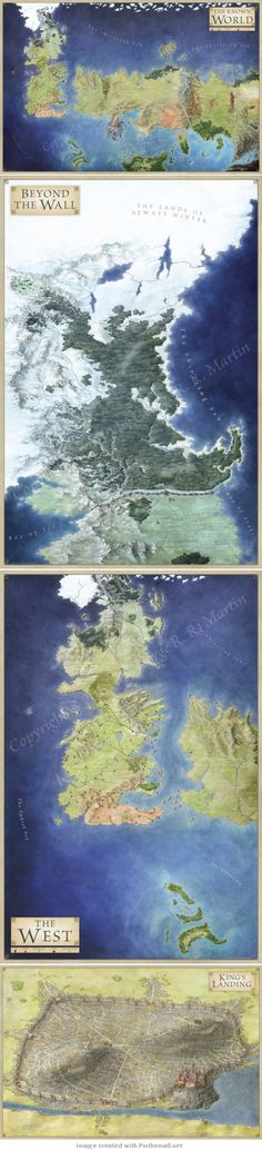 Game of Thrones #Maps
