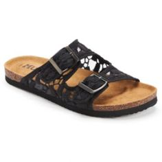 1a67e6a69ad Mudd® Women s Slip-On Footbed Sandals Ladies Slips