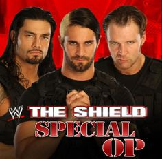 The Shield has the best WWE theme.