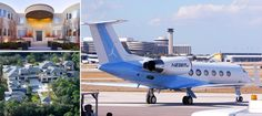 To celebrate Jordan turning 50 this month, you'll be seeing a lot pics, videos, and articles about him. Check out his private jet? Notice the Carolina Blue colors and the jump man logo. Luxury Private Jets, Private Plane, Nba Funny, Funny Memes, Nba Memes, Gulfstream Iv, Personal Jet, Michael Jordan Pictures, Executive Protection