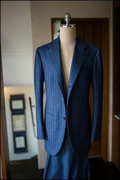 Never Enough Blue Suit ! B & Tailor