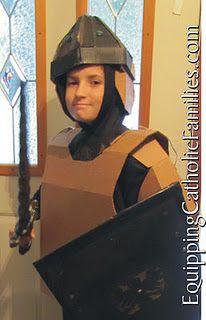homemade armor - da sito estremista. glup