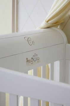"""Pin for Later: What Will the Royal Baby's Nursery Look Like? Details on the Crib The new artwork designed especially for the """"Suite Dreams"""" room features royal imagery and the alphabet. Source: The Grosvenor House"""