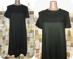 Vintage 60s Dark Olive Green Mod MATERNITY Dress by IntrigueU4Ever