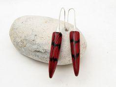 "earring Designer Ohrringe "" Teufelchen "" Polymer Clay fimo von filigran-Design auf DaWanda.com"