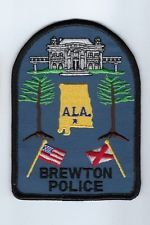 Brewton Alabama Police Dept. patch