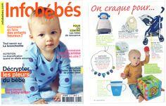 Ils en parlent :  le magazine Infobébés craque pour… nos Colliers de pierres précieuses !!