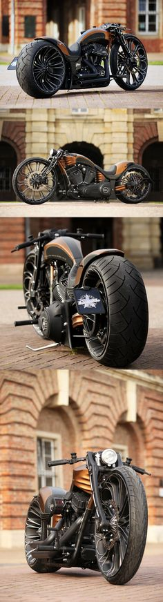 AWSOOOOME#Thunderbike ProductionR custom #motorcycle | Raddest Looks On The Internet: http://www.raddestlooks.org