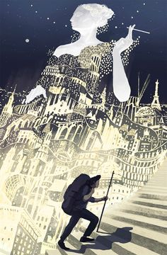 theartofanimation:  Miko Maciaszek  reminds me of great gatsby somehow