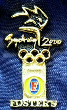 The legendary beer of Australia combined with the Olympic rings and Sydney 2000. A pin collectors must have addition!