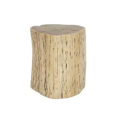 Shelter Organic Side Table in Natural Acacia - Curious Grace