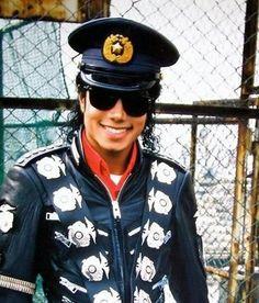 michael jackson bad era police hat