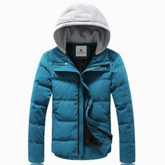 Find More Parkas Information about Winter Jacket Men 2015 New Korean Thick Warm Parka Men Fashion Cotton padded Hooded Down Jacket M 3XL 4Color Factory Direct Sale,High Quality jacket camera,China jacket silk Suppliers, Cheap jacket pvc from Eric's on Aliexpress.com