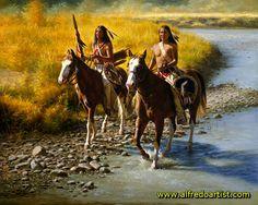 indios americanos jovem