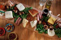 Yerel Peynir Tabağı. Cheese platter