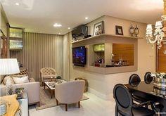 Apartamento compacto e muitas possibilidades para encantar! Amei...  {Projeto @fonseca_burity_arquitetura} #bloghomeidea #decoração #interiores #interiores #olioliteam by bloghomeidea