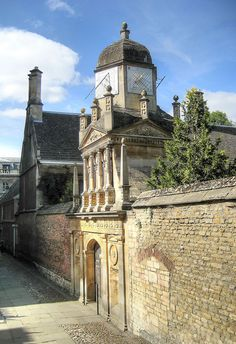 Gonville & Caius College, Cambridge - Gate of Honour, via Flickr.