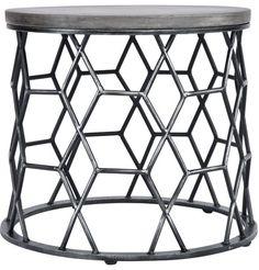 Porter Concrete Side Table