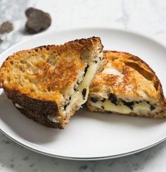 Truffle Grilled Cheese: this perfect indulgence pairs perfectly with a glass of champagne and a good movie.