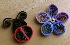 Squidoo Quilling section w/links to free patterns. And I'm pretty sure this is about my starting level.