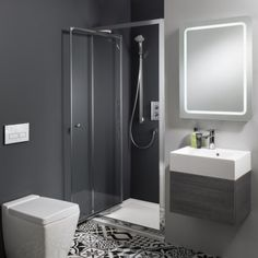 58 trendy ideas for bath room remodel small shower space saving wet rooms Top Bathroom Design, Trendy Bathroom, Mirror Cabinets, Stylish Bathroom, Ensuite Shower Room, Bathroom Mirror, Small Shower Room, Bathroom Remodel Small Shower, Bathroom Design