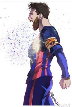 leo messi discovered by Maya.k on We Heart It Cr7 Messi, Messi Soccer, Messi And Ronaldo, Messi 10, Neymar, Fcb Barcelona, Lionel Messi Barcelona, Barcelona Football, Best Football Players