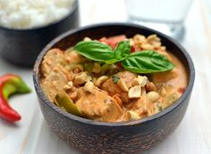 Cook's Hideout: Panaeng Curry with Tofu & Peppers