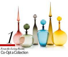 Joe Cariati Petite Decanter collection, $385 eachjoecariati.com
