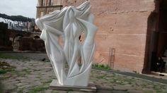 Le Tre Grazie - Pablo Atchugarry - 1999  / Marmo di Carrara / Roma - IT 01/2016