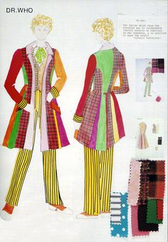 The Sixth Doctor's jacket, costume design!