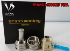 Brass Monkey Rebuildable atomizer with free postage only at www.vapsol.com.au