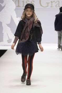 Miss Grant FW 2012-13 kidswear with layered tailoring and just look at those tights!