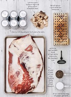 How to make a Texas style beef brisket in a gas grill. BON Appetit magazine