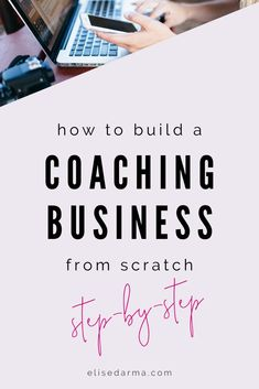 Want to learn how to build a coaching business? Need coaching business inspiration and coaching busi Business Branding, Business Tips, Online Business, Business Coaching, Business Notes, Business Motivation, Business Marketing, Content Marketing, Affiliate Marketing
