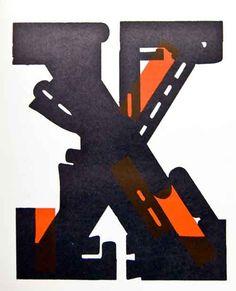 initial X by Josua Reichert (1963)