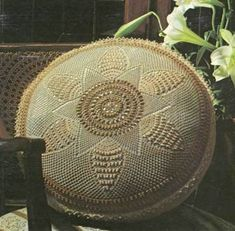 Crochet Cushion Jewel