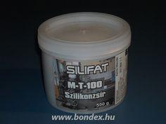Teflonnal töltött szilikonzsír Silifat M-T- 100 (500 gr) Coffee Cans, Canning, Drinks, Drinking, Beverages, Drink, Home Canning, Beverage, Conservation
