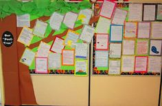 Poet-Tree bulletin board @ Runde's Room just in case I go back in future Teaching Poetry, Teaching Writing, Teaching Tools, Teaching Ideas, Writing Help, Bulletin Board Tree, Preschool Bulletin Boards, Writing Resources, Teacher Resources