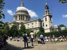 St Paul's Cathedral in the City Of London England on Wednesday 5 July 2017