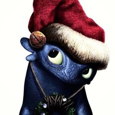 merry christmas from toothless find this pin and more on how to train your dragon - How To Train Your Dragon Christmas