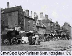 Carrier Depot Upper Parliament St c 1890