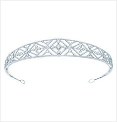 Tiffany & Co.'s Grace Diamond tiara (52k+ British pounds) is a one-of-a-kind.  ...  worth every penny?