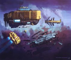 Space opera by ProxyGreen.deviantart.com