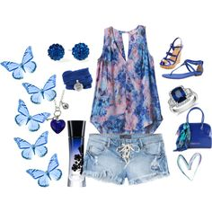 """Summer"" by mdcampbell on Polyvore"