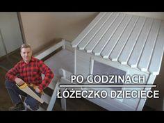 Jak zbudowałem łóżeczko dziecięce - domek z drewna - YouTube
