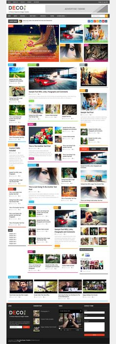 97 best Best Responsive Blogger Template Collection images on ...