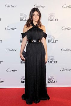 Julia Restoin Roitfeld at the New York City Ballet 2015 Fall Fashion Gala